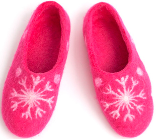 W.X. Тапочки-снежинки
