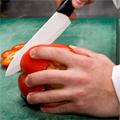 Коллекция Керамические ножи 2 наименования стоимостью от 198 до 4820 руб. Легкие и прочные ножи, созданные с использованием самых передовых технологий. Помимо высокого качества у вас вызовет удивление неизменная острота лезвия – эти ножи очень остры. Лезвия устойчивы к запахам и вкусам, гигиеничны и гипоаллергенны, безвредны для пищевых продуктов. Кроме того, такие неприятности как коррозия и кислоты не являются существенными – при использовании данных ножей этих проблем просто не существует. Компания Викторинокс заботится о своих клиентах, а потому всегда рада предложить нечто новое, безопасное и наиболее полезное.